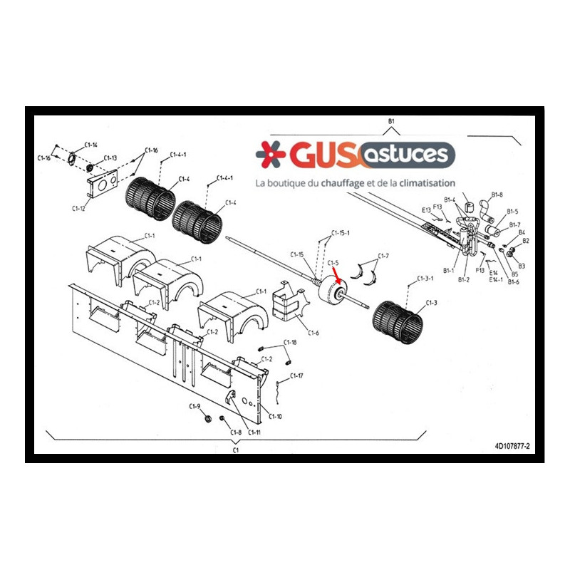 Thermostat filaire Daikin Altherma