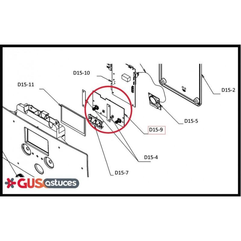 Batterie électrique d'appoint monophasée EKMBUHC3V3
