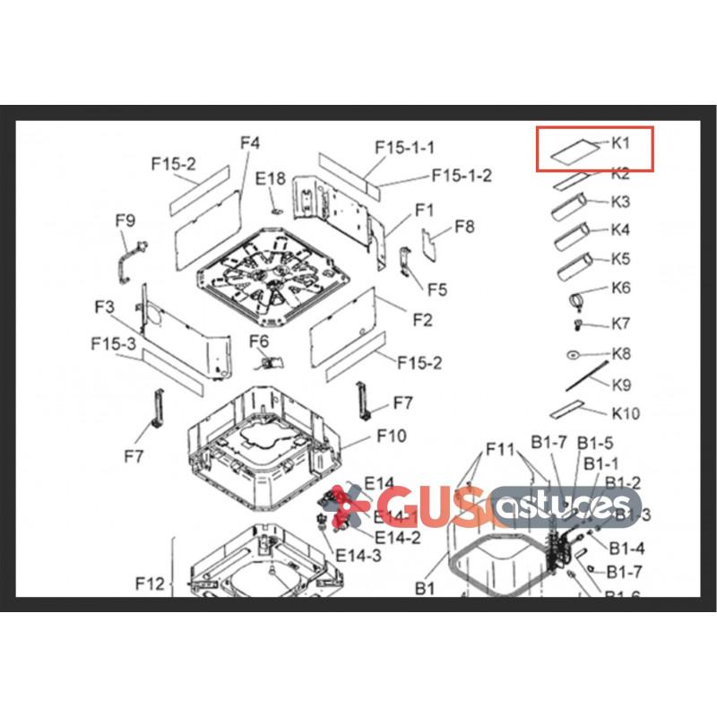 Carte wifi Daikin Online Controller BRP069A81