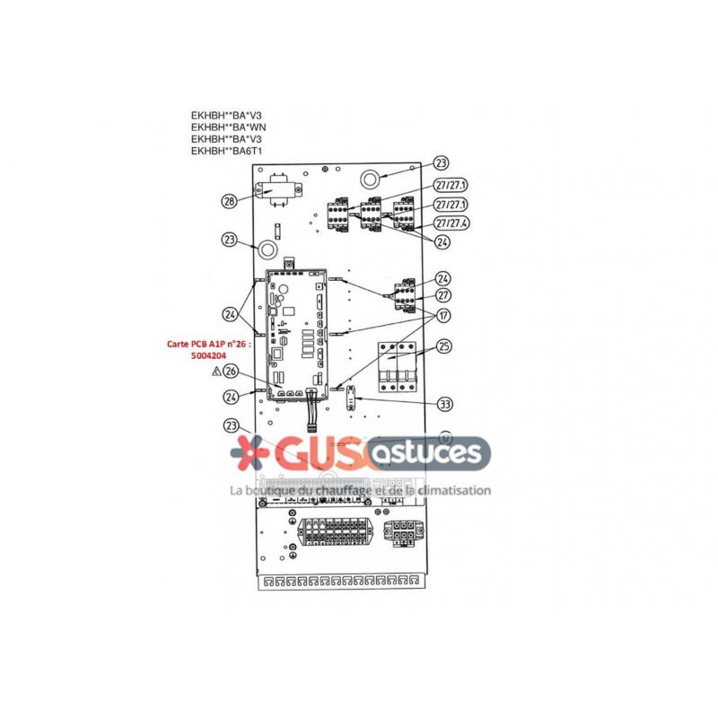 Daikin moyenne température bizone et ECS 230 litres
