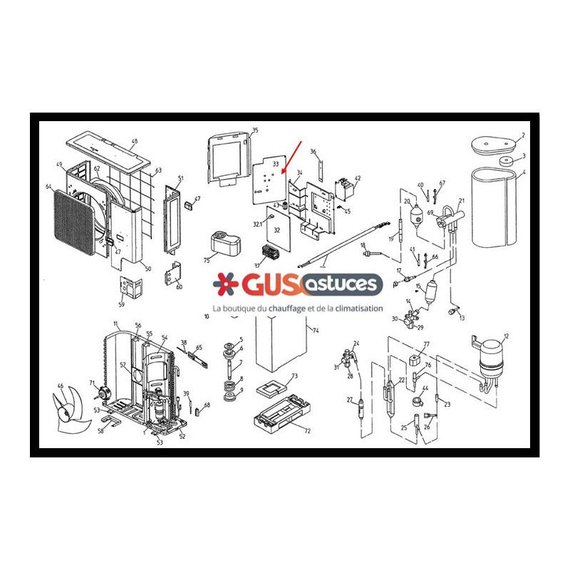 chauffage avec ecs ehvh c9w erlq daikin. Black Bedroom Furniture Sets. Home Design Ideas